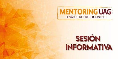 Sesión Informativa - Auditorio Luis Garibay  (DCYT) entradas