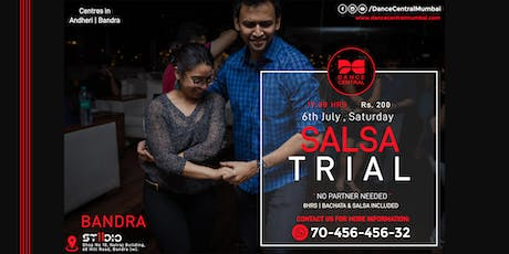 Salsa Dance Basic Trial/Demo - With Classes by Vineet Bangera tickets