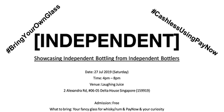 INDEPENDENT: Showcasing Whisky / Rum IBs from Independent Bottlers tickets