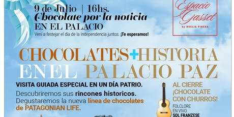 Chocolate por la Noticia en el Palacio Paz entradas