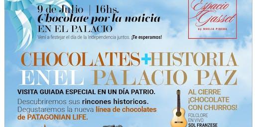 Chocolate por la Noticia en el Palacio Paz