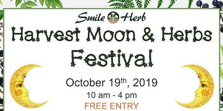 Harvest Moon & Herbs Festival 2019 tickets