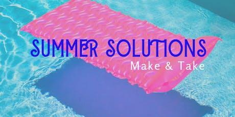 Essential Oil Wellness Workshop - Summer Solutions tickets
