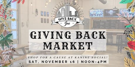 Giving Back Market tickets