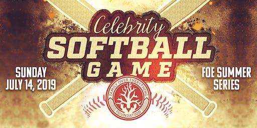 Family Over Everything Foundation Celebrity Softball Game