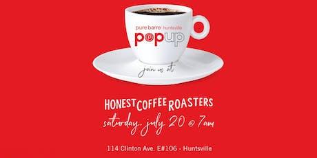 Pure Barre Huntsville Pop Up: Honest Coffee Roasters tickets