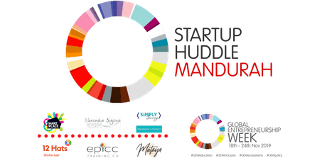Startup Huddle Mandurah - July tickets