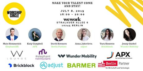 Workshop Circle - Make your talent come and stay! tickets