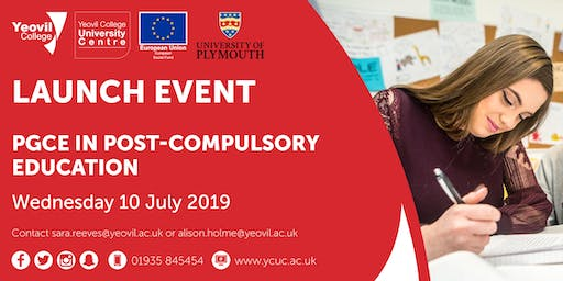 PGCE in Post-Compulsory Education - Launch Event