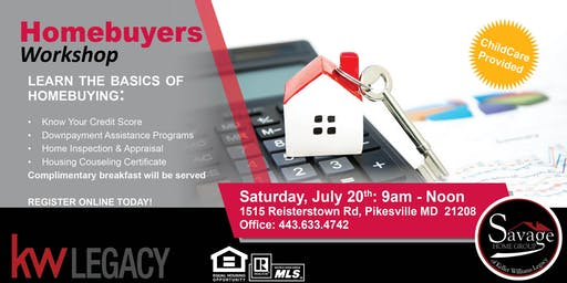 FREE: Savage Home Group Homebuyers Workshop