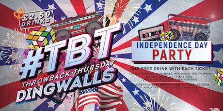 4th of July (Independence Day) Party at Dingwalls Camden (£2.50 Drinks) tickets