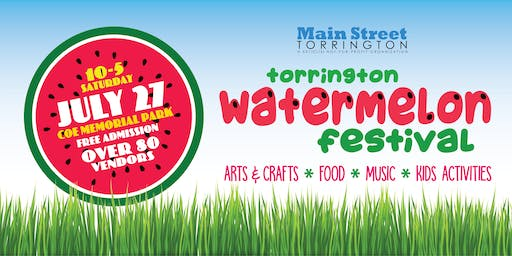 July 27 Torrington Watermelon Festival