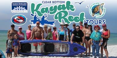 Clear Bottom Kayak Tours June 29, 2019