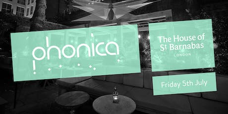 Phonica Records and Toby Tobias at The House of St Barnabas tickets