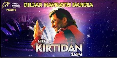 Dildar Navratri Dandia by Kirtidan Gadhvi in Sydney tickets