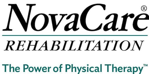Free Injury Screen - NovaCare Rehabilitation - Florence (August 2019)