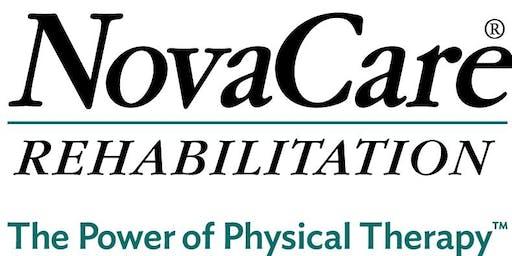 Free Injury Screen - NovaCare Rehabilitation - Florence (September 2019)