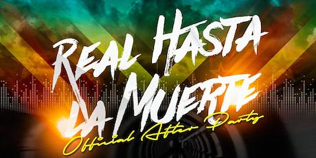 """Anuel """"Real Hasta La Muerte"""" Official Tour After Party tickets"""