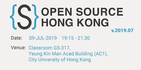 Open Source HK Monthly Meeting 19.07 tickets