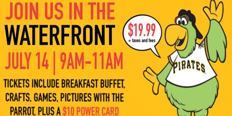 D&B Pittsburgh (The Waterfront) Breakfast with the Pittsburgh Pirates Parrot! tickets