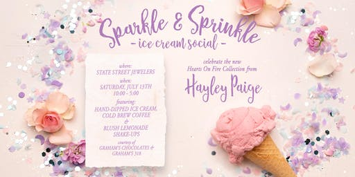 Sparkles & Sprinkles Ice Cream Social