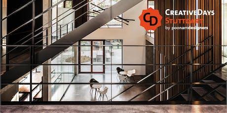 CreativeDays Stuttgart 2019 | OPEN ATELIER | blocher partners Tickets