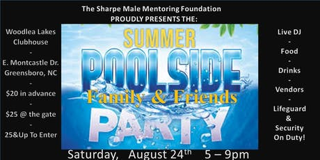 """Summer """"Family & Friends"""" Poolside Party tickets"""