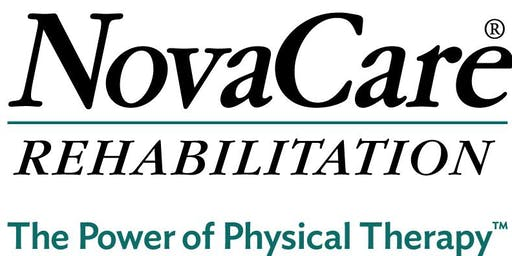 Free Injury Screen - NovaCare Rehabilitation - Florence (November 2019)
