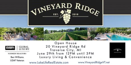 Vineyard Ridge Open House tickets