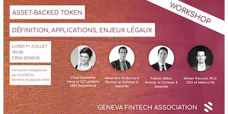 Asset-backed token // Définition, applications, enjeux légaux  billets