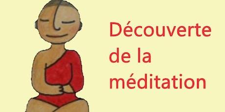 Découverte de la méditation billets