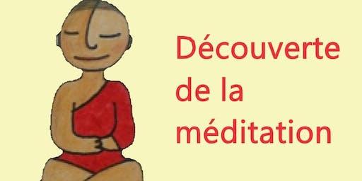 Découverte de la méditation