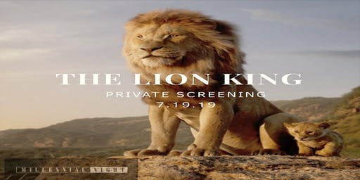 Private Screening: The Lion King