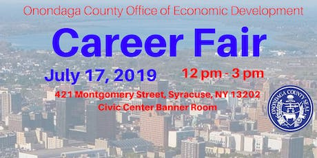 Career Fair by the Onondaga County Office of Economic Development tickets