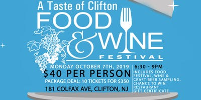 A Taste of Clifton Food & Wine Festival