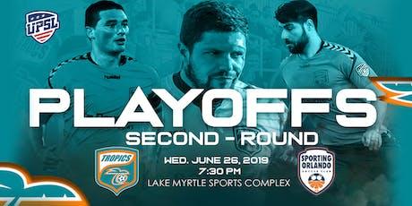 Tropics SC UPSL Playoff Round 2 vs. Sporting Orlando tickets