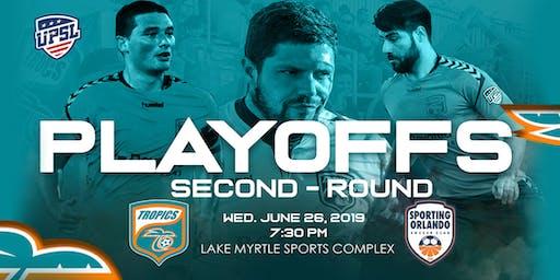 Tropics SC UPSL Playoff Round 2 vs. Sporting Orlando