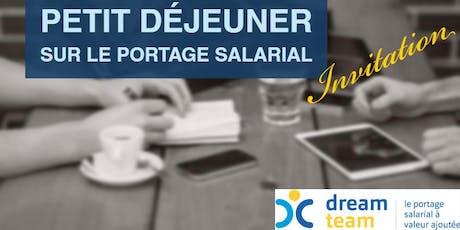 Petit déjeuner sur le portage salarial - 24 juillet 2019 - Valbonne billets