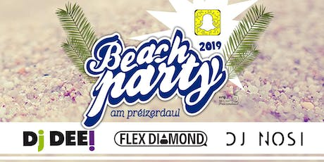 Beachparty 2019 billets