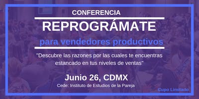 """REPROGRÁMATE para Vendedores Productivos"""
