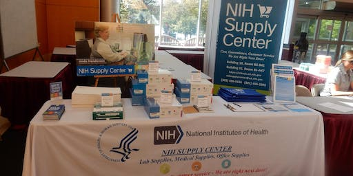 July 24th 2019 - NIH Supply Center - Building 10 Table Top Product Demonstration Expo