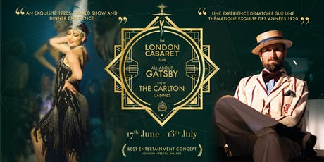 All About Gastby Cannes tickets
