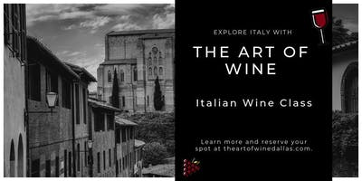 Italian Wine Education Class