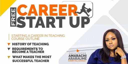 FREE CAREER STARTUP IN TEACHING