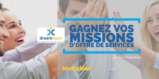 """""""Gagnez vos missions d'offre de services"""" - 31 juillet 2019 - Valbonne"""
