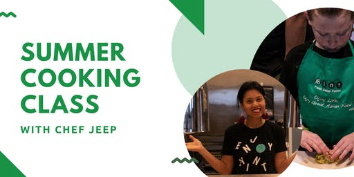 Summer Cooking Class Series with Chef Jeep