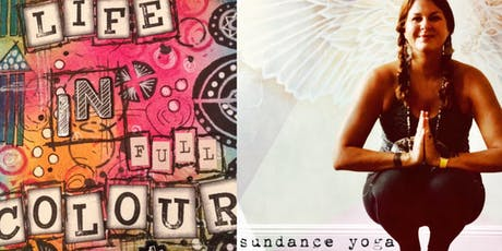 Shine On Yoga & DIY Journal Workshop  tickets