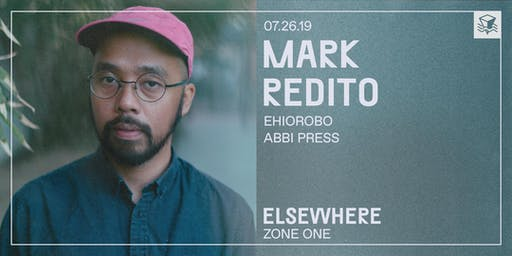 Mark Redito @ Elsewhere (Zone One)