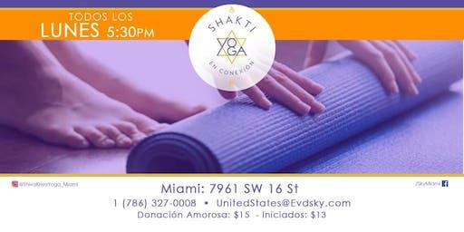 Clases de Shiva Hatha Yoga en SKY Miami