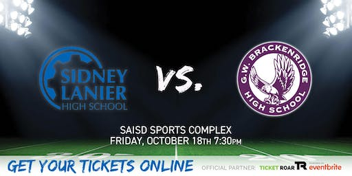 Lanier (San Antonio) vs Brackenridge Varsity Football
